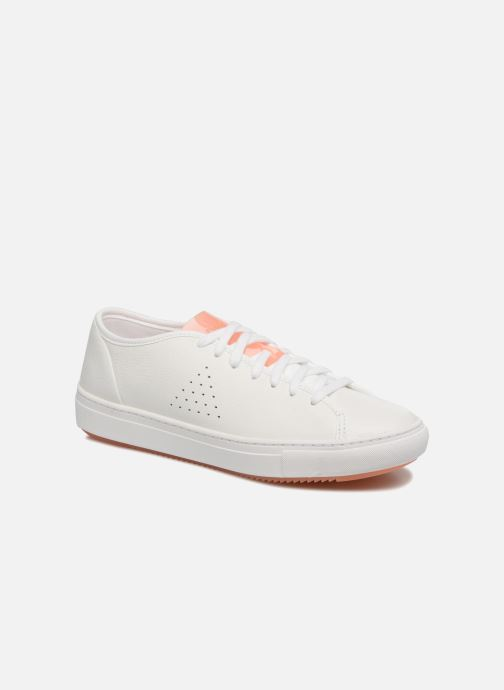 Trainers Le Coq Sportif Jane Leather White detailed view/ Pair view