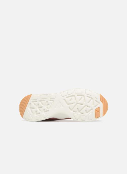 Sneaker Le Coq Sportif Solas W Summer Flavor rosa ansicht von oben
