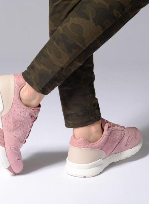 Sneaker Le Coq Sportif Omega X W Summer Flavor rosa ansicht von unten / tasche getragen