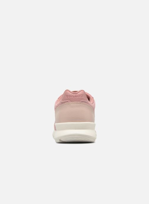 Sneaker Le Coq Sportif Omega X W Summer Flavor rosa ansicht von rechts