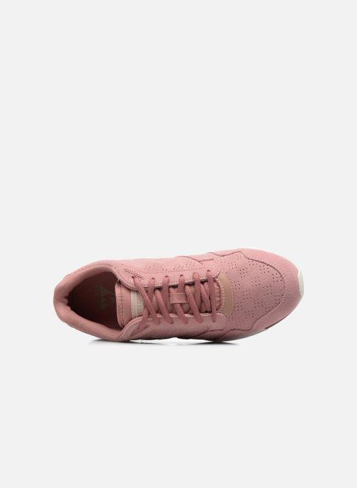Sneaker Le Coq Sportif Omega X W Summer Flavor rosa ansicht von links