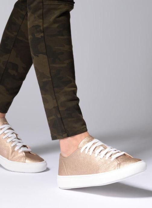 Sneaker Le Coq Sportif Jane Metallic gold/bronze ansicht von unten / tasche getragen