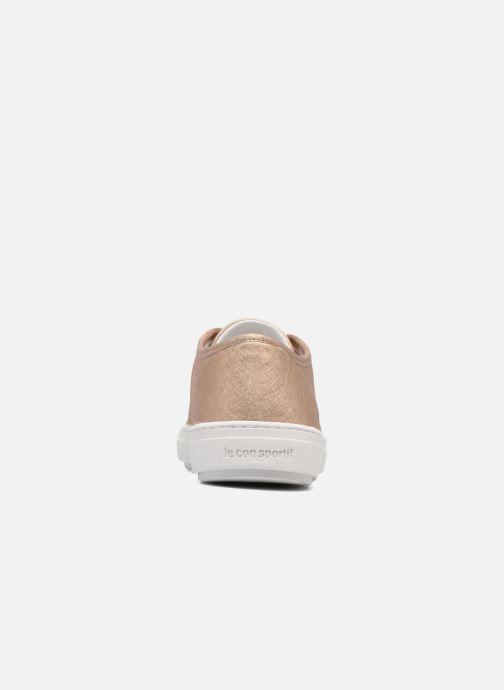 Sneaker Le Coq Sportif Jane Metallic gold/bronze ansicht von rechts