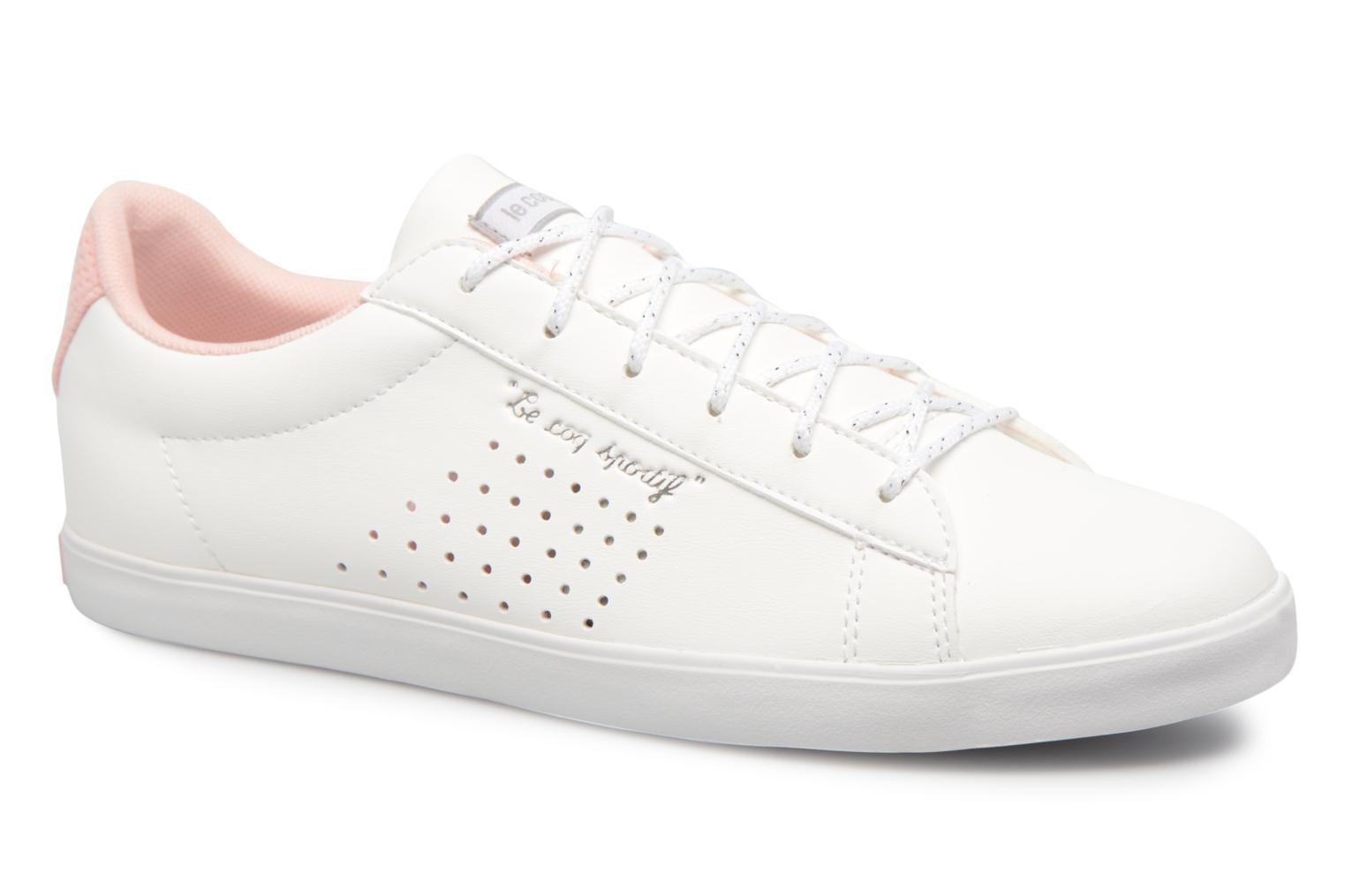 89f05762476e ... coupon code for trainers le coq sportif agate lo s lea metallic mesh  white detailed view