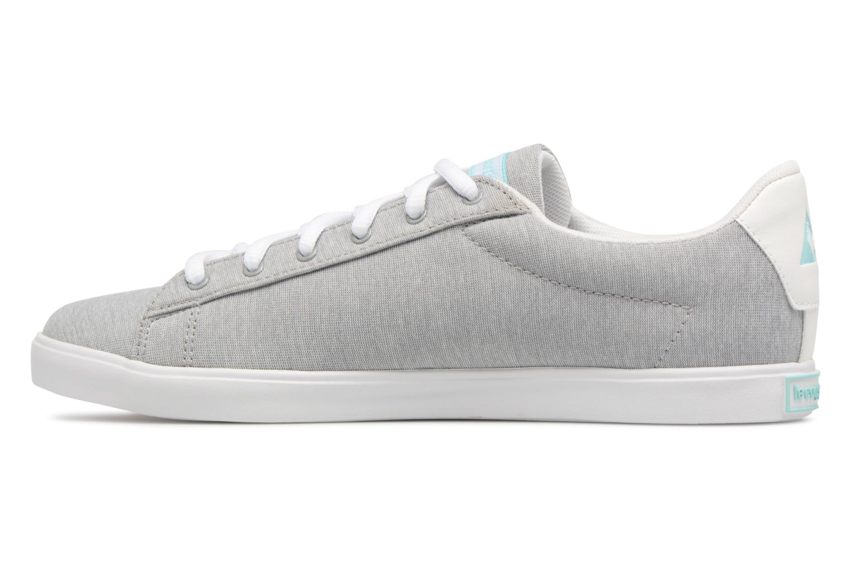 Sneakers Le Coq Sportif Agate Lo Tech Jersey Grijs voorkant