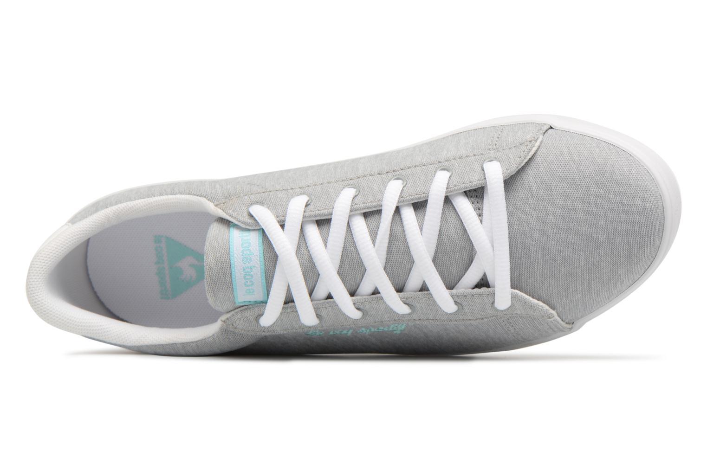 Sneakers Le Coq Sportif Agate Lo Tech Jersey Grijs links