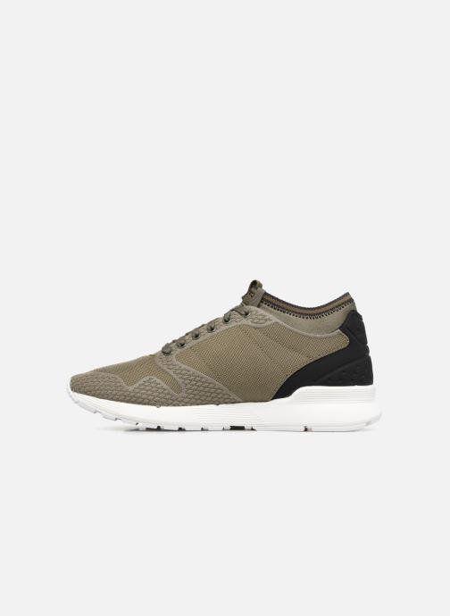 Sneaker Le Coq Sportif Omicron Tech Modern grün ansicht von vorne