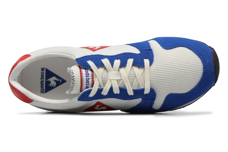 Baskets Le Coq Sportif Omega Nylon Bleu vue gauche