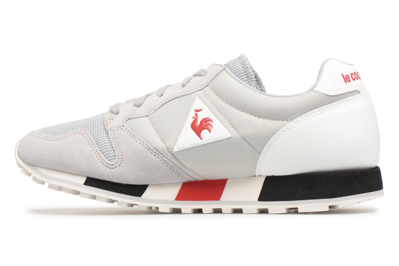 Sneakers Le Coq Sportif Omega Nylon Grijs voorkant