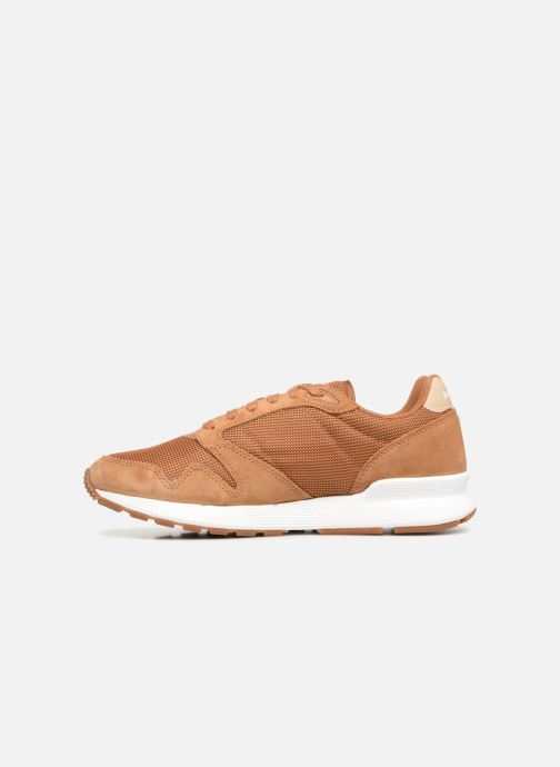 Trainers Le Coq Sportif Omega X Sport Brown front view