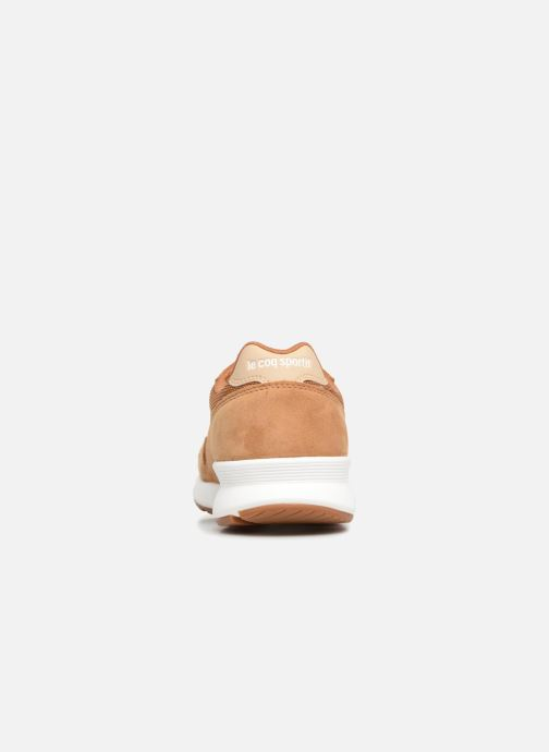 Trainers Le Coq Sportif Omega X Sport Brown view from the right