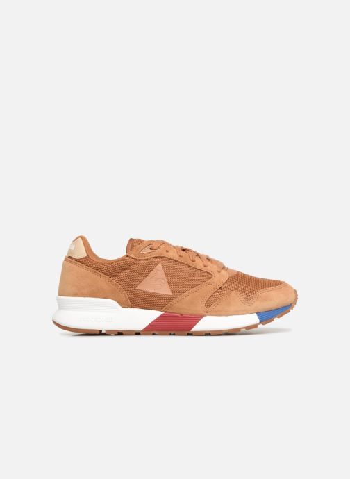 Trainers Le Coq Sportif Omega X Sport Brown back view