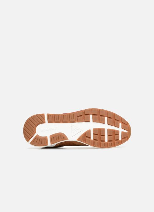 Trainers Le Coq Sportif Omega X Sport Brown view from above