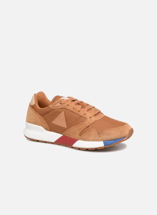 Trainers Le Coq Sportif Omega X Sport Brown detailed view/ Pair view