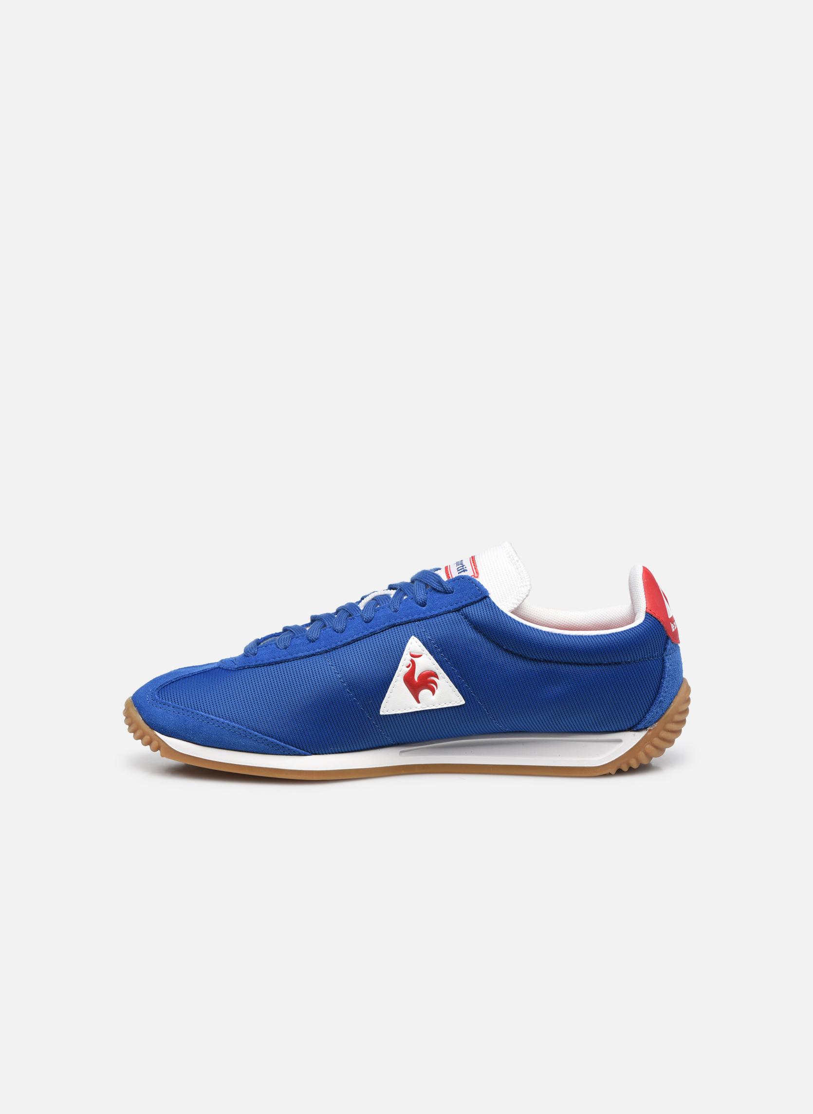 Sneakers Le Coq Sportif Quartz Nylon Gum Blauw voorkant