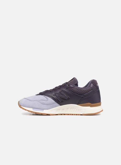 Baskets New Balance WL840 Violet vue face