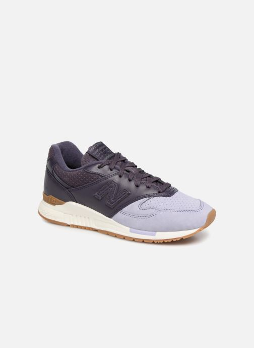 Trainers New Balance WL840 Purple detailed view/ Pair view