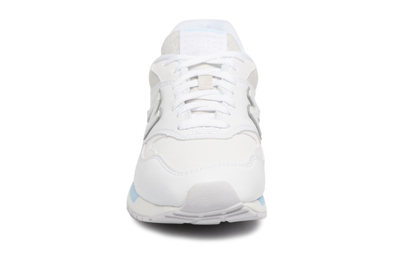 Baskets New Balance WL840 Blanc vue portées chaussures