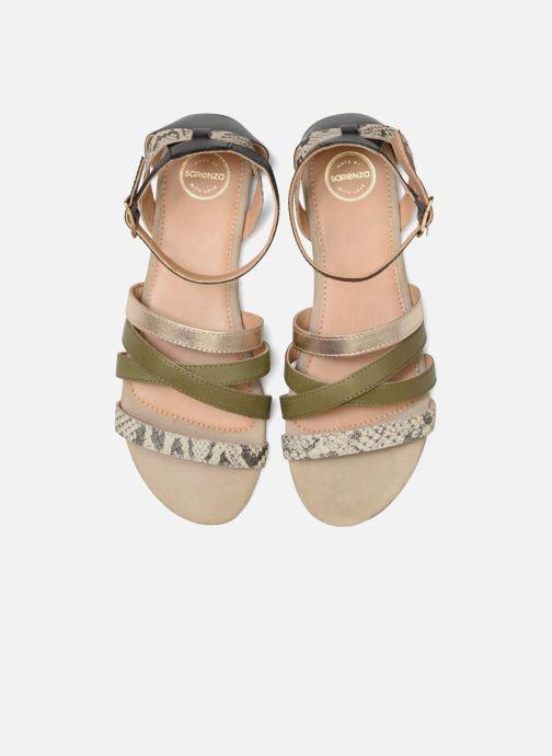 Sandales et nu-pieds Made by SARENZA Carioca Crew Sandales Plates #1 Vert vue portées chaussures