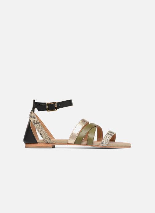 Sandales et nu-pieds Made by SARENZA Carioca Crew Sandales Plates #1 Vert vue détail/paire