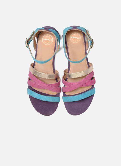 Sandales et nu-pieds Made by SARENZA Carioca Crew Sandales Plates #1 Multicolore vue portées chaussures
