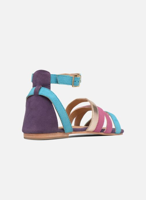 Sandales et nu-pieds Made by SARENZA Carioca Crew Sandales Plates #1 Multicolore vue face