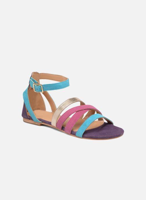 Sandales et nu-pieds Made by SARENZA Carioca Crew Sandales Plates #1 Multicolore vue droite