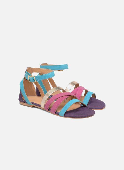 Sandales et nu-pieds Made by SARENZA Carioca Crew Sandales Plates #1 Multicolore vue derrière