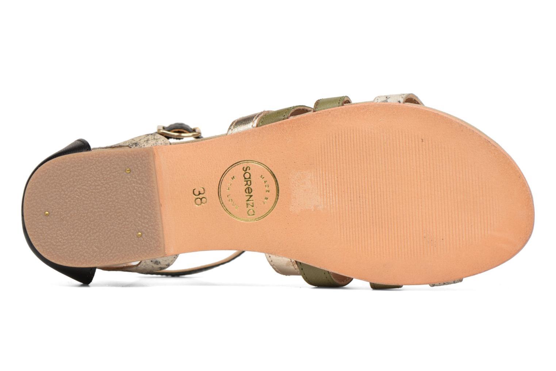 Sandales et nu-pieds Made by SARENZA Carioca Crew Sandales Plates #1 Vert vue haut