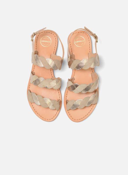 Sandales et nu-pieds Made by SARENZA Carioca Crew Sandales Plates #2 Vert vue portées chaussures