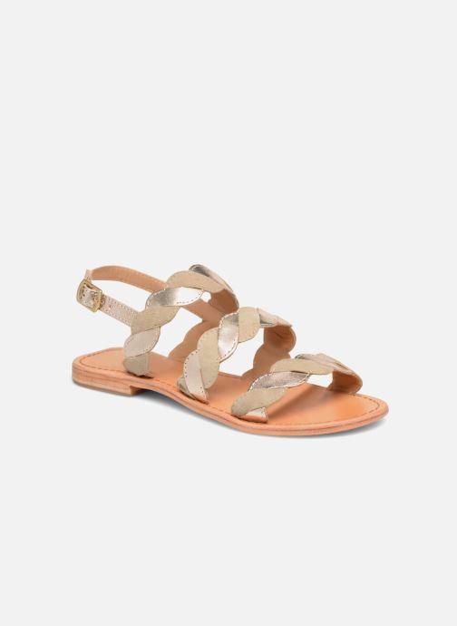 Sandales et nu-pieds Made by SARENZA Carioca Crew Sandales Plates #2 Vert vue droite