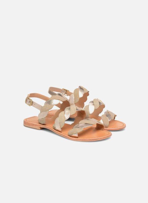 Sandales et nu-pieds Made by SARENZA Carioca Crew Sandales Plates #2 Vert vue derrière