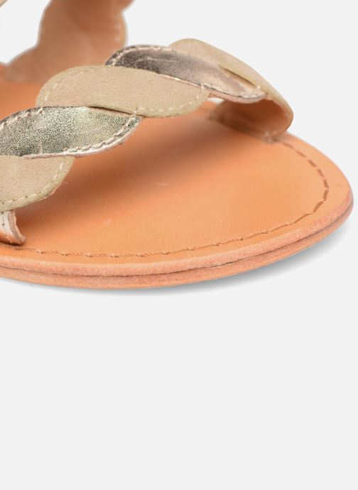 Sandales et nu-pieds Made by SARENZA Carioca Crew Sandales Plates #2 Vert vue gauche