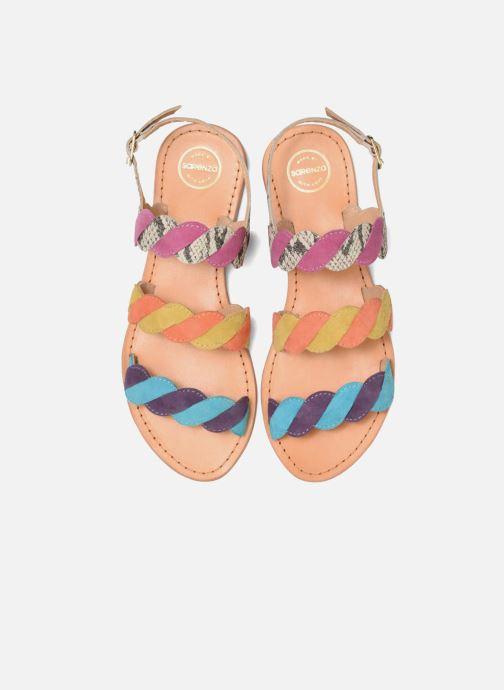 Sandales et nu-pieds Made by SARENZA Carioca Crew Sandales Plates #2 Multicolore vue portées chaussures
