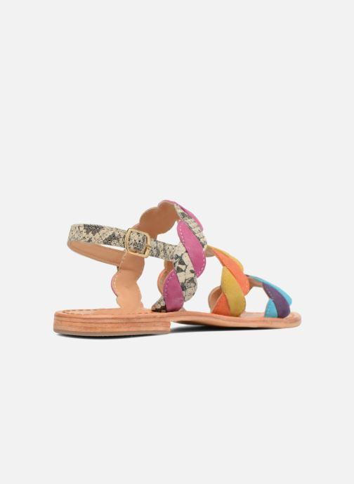 Sandales et nu-pieds Made by SARENZA Carioca Crew Sandales Plates #2 Multicolore vue face