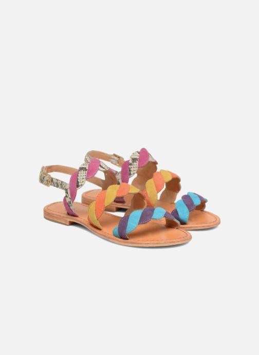 Sandales et nu-pieds Made by SARENZA Carioca Crew Sandales Plates #2 Multicolore vue derrière