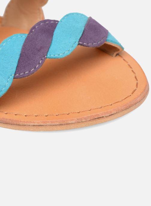 Sandales et nu-pieds Made by SARENZA Carioca Crew Sandales Plates #2 Multicolore vue gauche