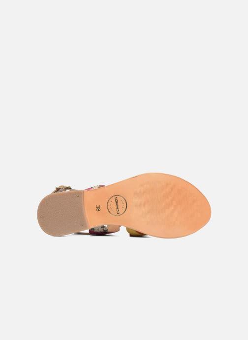 Sandales et nu-pieds Made by SARENZA Carioca Crew Sandales Plates #2 Multicolore vue haut