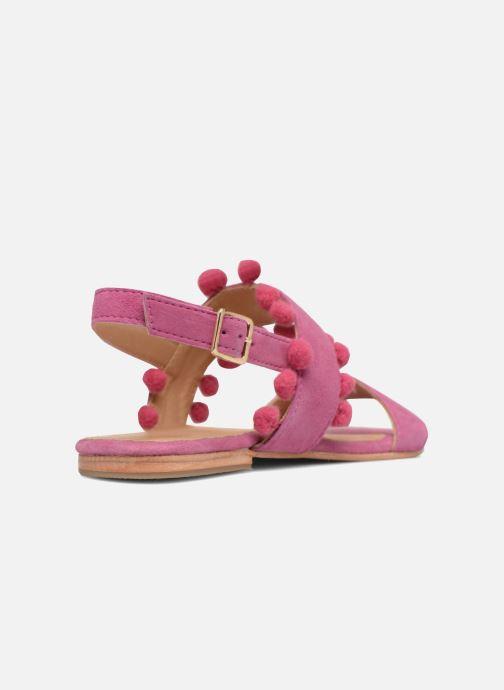 Sandali e scarpe aperte Made by SARENZA Bombay Babes Sandales Plates #2 Rosa immagine frontale