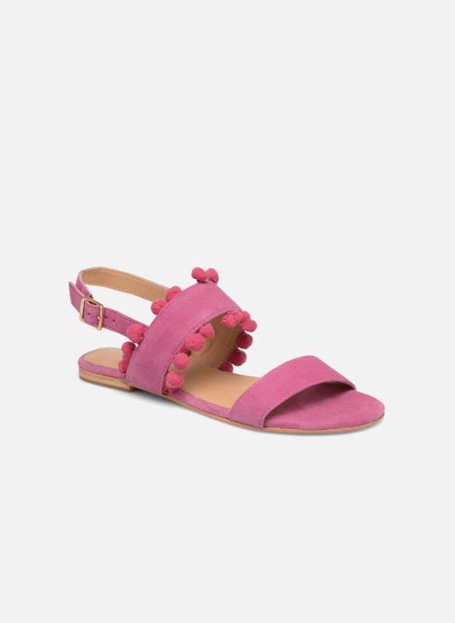 Sandales et nu-pieds Made by SARENZA Bombay Babes Sandales Plates #2 Rose vue droite