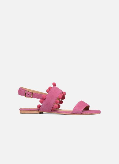 Sandaler Made by SARENZA Bombay Babes Sandales Plates #2 Rosa detaljerad bild på paret