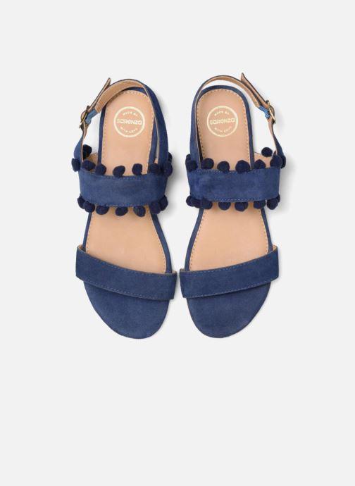 Sandalias Made by SARENZA Bombay Babes Sandales Plates #2 Azul vista del modelo
