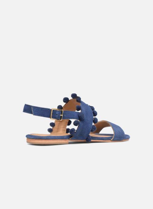 Sandales et nu-pieds Made by SARENZA Bombay Babes Sandales Plates #2 Bleu vue face
