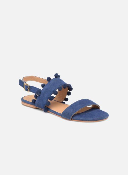 Sandalias Made by SARENZA Bombay Babes Sandales Plates #2 Azul vista lateral derecha