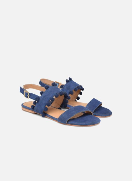 Sandalias Made by SARENZA Bombay Babes Sandales Plates #2 Azul vistra trasera