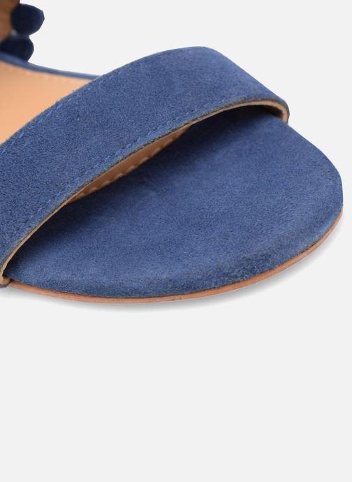 Sandalias Made by SARENZA Bombay Babes Sandales Plates #2 Azul vista lateral izquierda
