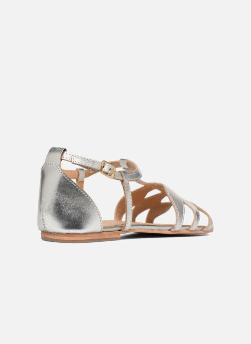 Sandalen Made by SARENZA Bombay Babes Sandales Plates #4 silber ansicht von vorne