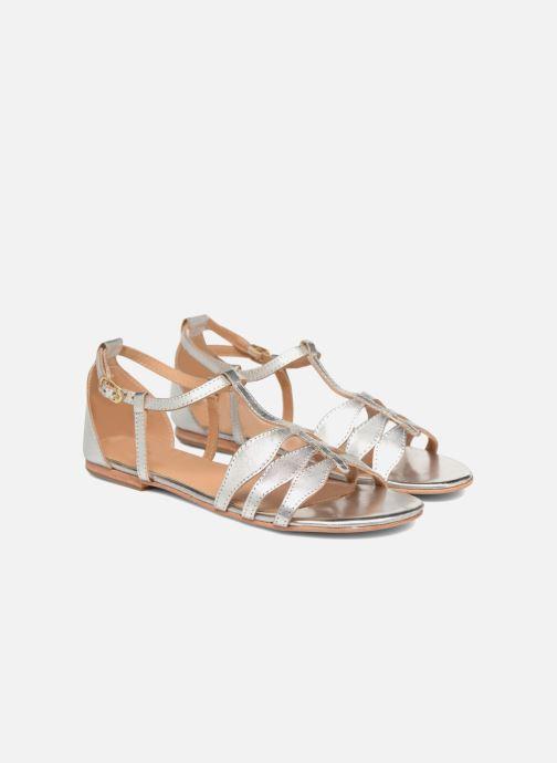 Sandalen Made by SARENZA Bombay Babes Sandales Plates #4 silber ansicht von hinten