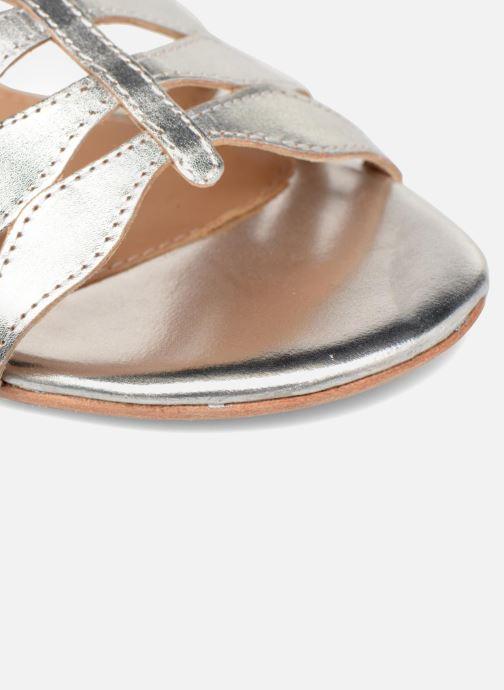 Métalisé Bombay By Cuir Plates4 Made Babes Argent pieds Et Nu Sarenza Sandales kZwOTiPXu