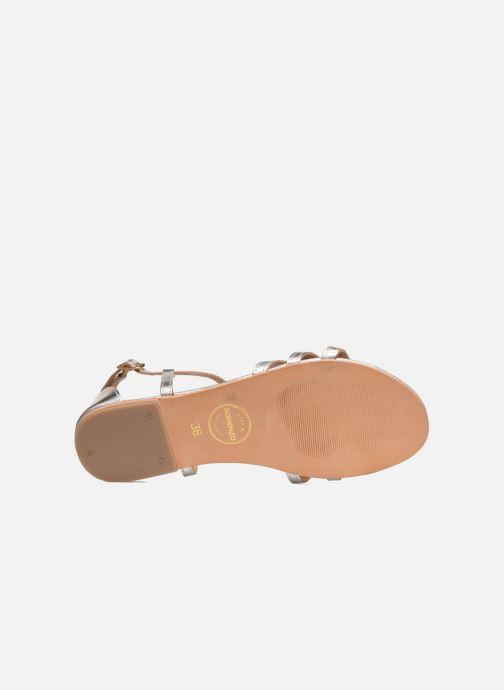 Sandalen Made by SARENZA Bombay Babes Sandales Plates #4 silber ansicht von oben